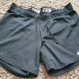 Nike Dri-Fit workout shorts.